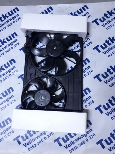VW PASSAT 2005-2013 FAN SETİ KOMPLE FAN PERVANESİ